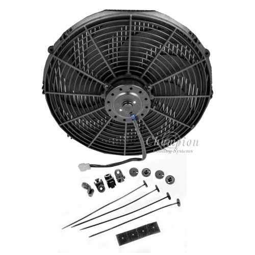 10 Inch Electric Fan Kit With Mounting Kit