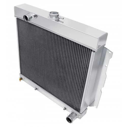 1966 - 1969 Dodge Charger Aluminum Radiator