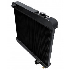 1961 - 1962 Oldsmobile Dynamic Black Finish Aluminum Radiator