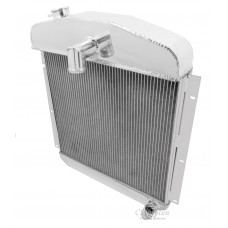 1947-1948 Plymouth P15 Special Deluxe Aluminum Radiator