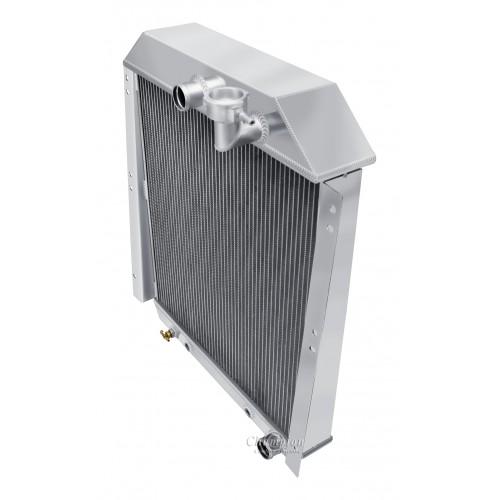 1947 - 1954 GMC Carry All Aluminum Radiator