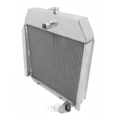 1947-1949 International KB3 Aluminum Radiator