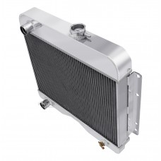 1953-1955 Willys 4-75 Pickup Aluminum Radiator