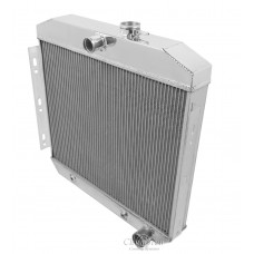 1955-1956 Chevrolet One-Fifty Series Aluminum Radiator