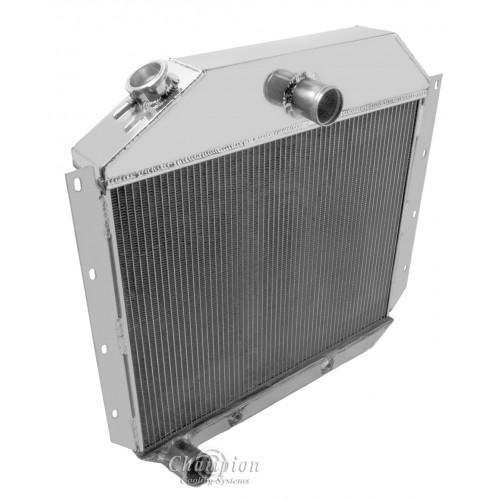 1951-1952 International L122 Aluminum Radiator