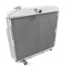 1953-1956 Ford F-100 Pickup Aluminum Radiator