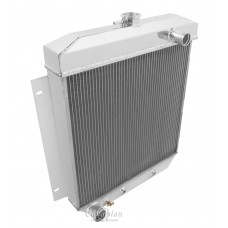 1954-1956 Ford Country Sedan Aluminum Radiator