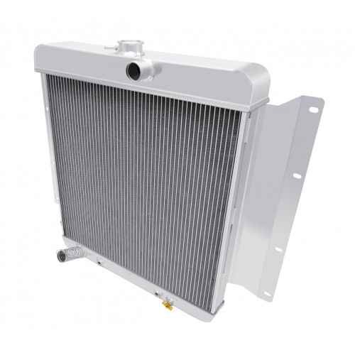 1968 - 1969 Dodge D100 Pickup Aluminum Radiator