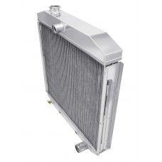1953-1955 Ford F-Series Trucks Aluminum Radiator