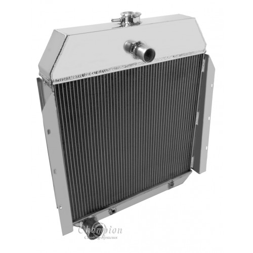 1948 International K-3 Aluminum Radiator