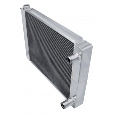 "Universal 3 Row Dual Pass Crossflow 22"" Core Radiator"