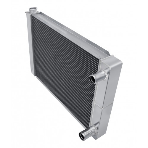 "Universal 3 Row Dual Pass Crossflow 24"" Core Radiator"