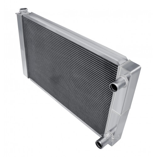"Universal 3 Row Dual Pass Crossflow 28"" Core Radiator"