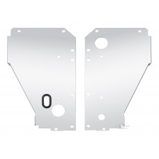 Panel Set for 1955 Core Support with Single & Triple Pass Configuration